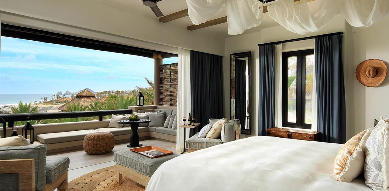esperanza cabo oceanview terrace spa casita bedroom