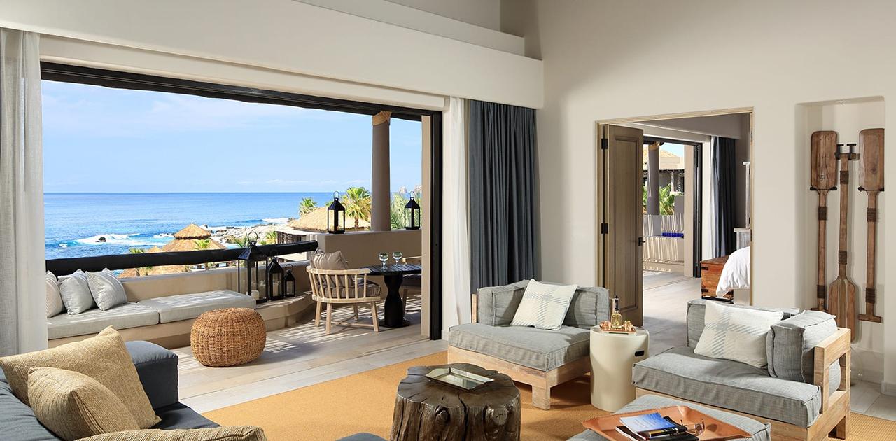 esperanza cabo one bedroom oceanview palapa spa suite