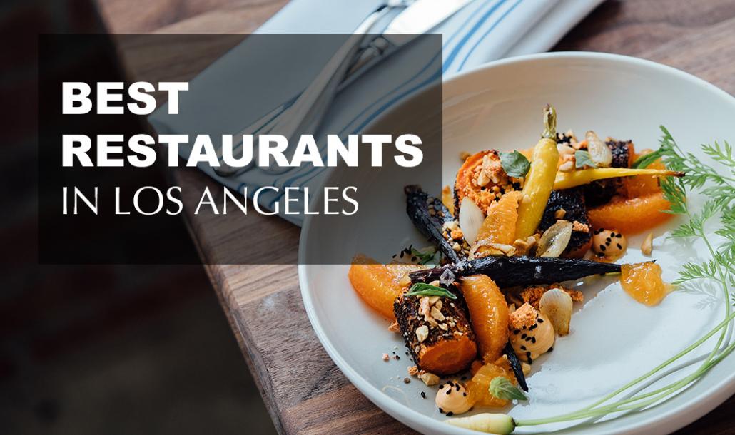 best restaurants in los angeles