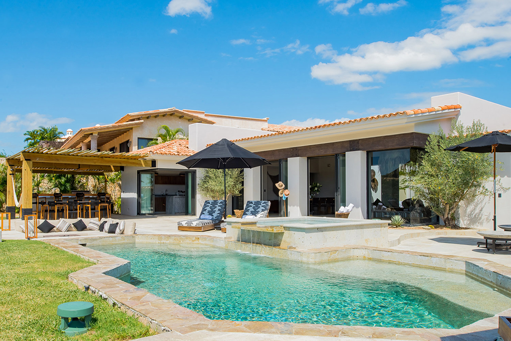 cabo villa rental pool
