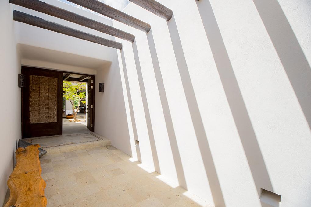 cabo villa rental entrance