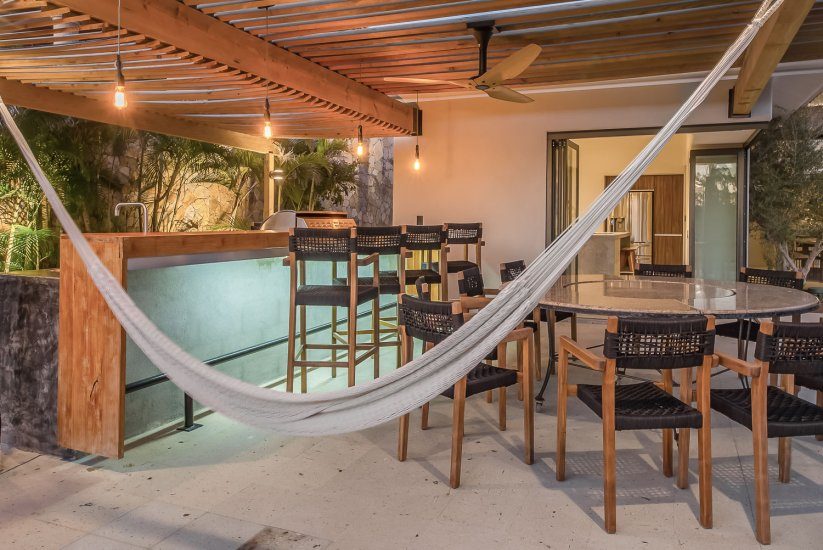 cabo villa rental hammock