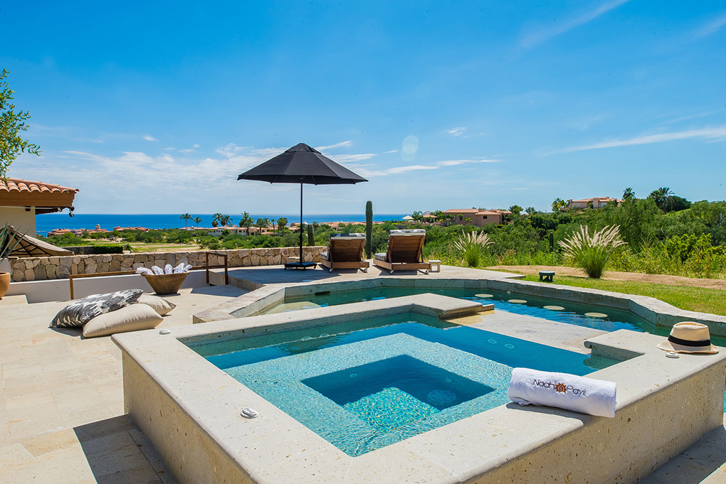 cabo villa rental jacuzzi spa and pool