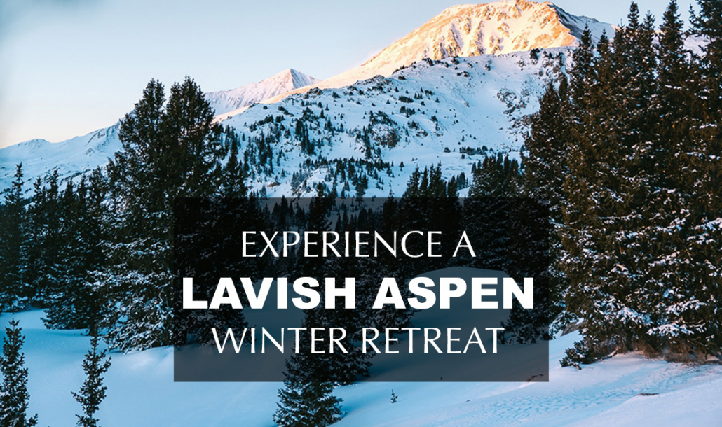 a lavish winter retreat in aspen