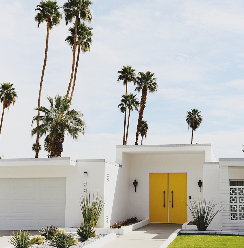 palm springs getaway vacation