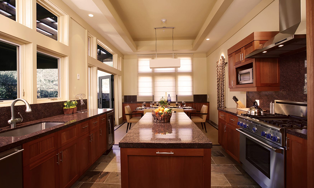 calistoga ranch resort meadow spa lodge kitchen