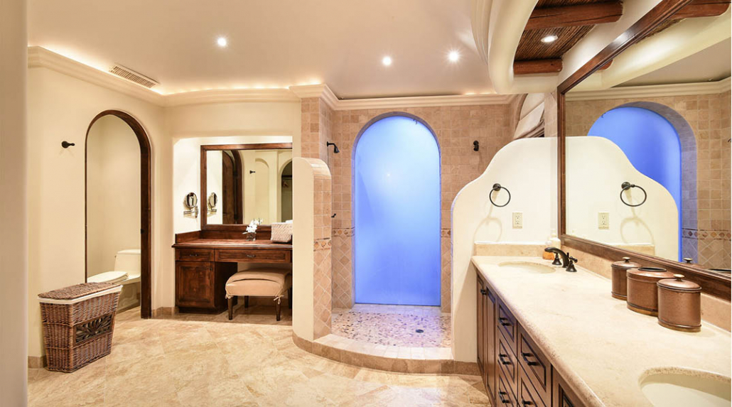cabo villa rental bathroom