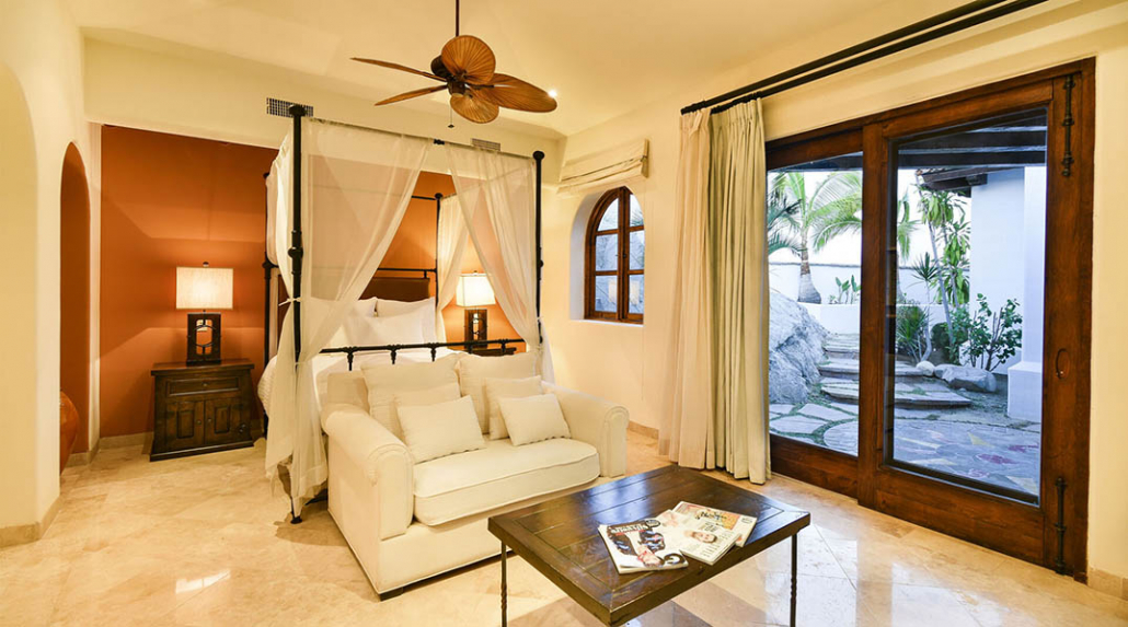 cabo villa rental bedroom