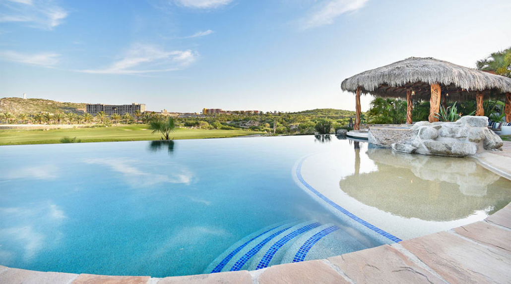 cabo villa rental pool