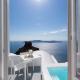 grace hotel santorini view of ocean