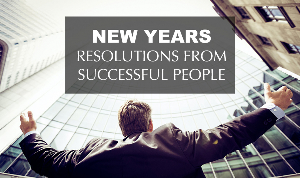 new years resolutions from successful people