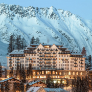 carlton hotel switzerland exterior mountain view