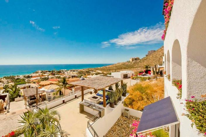 cabo villa rental view of ocean