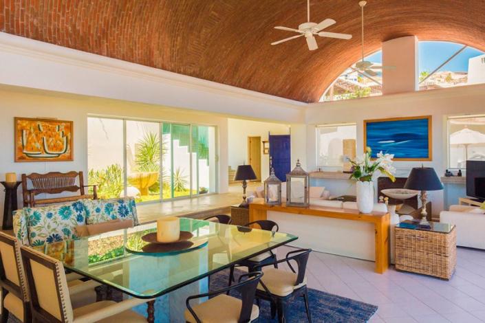 cabo villa rental open floor plan