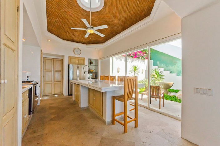 cabo villa rental kitchen