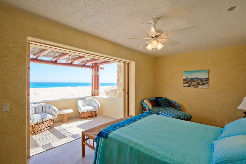 cabo villa rental bedroom