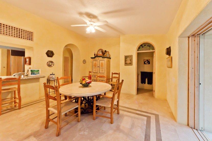 cabo villa rental dining room
