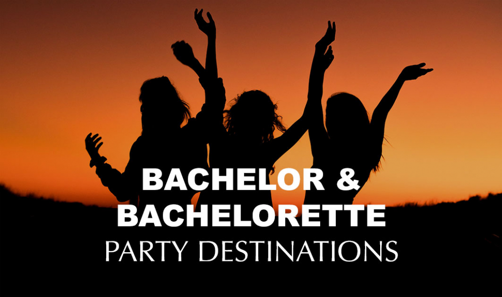 bachelor and bachelorette party destinations silhouette
