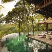 como shambhala estate pool view beautiful health wellness retreats
