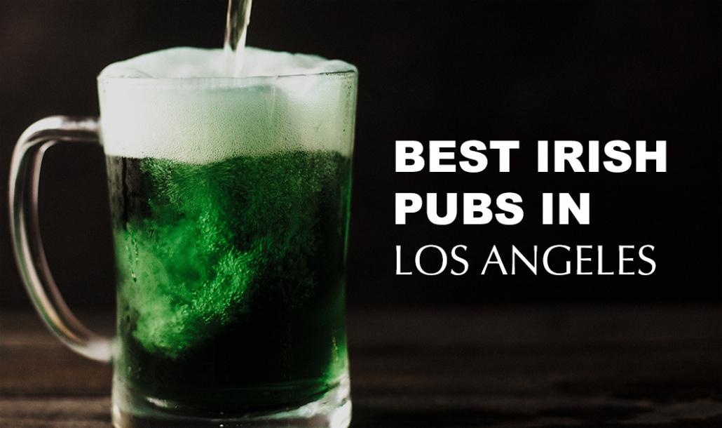green beer pub glass