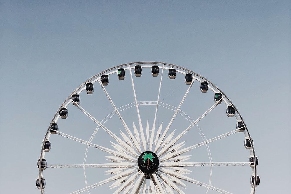 coachella festival ferris wheel coachella parties