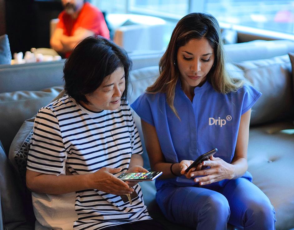 boost immune system nurse consultation drip iv