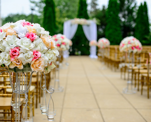 most eye catching spaces for la wedding