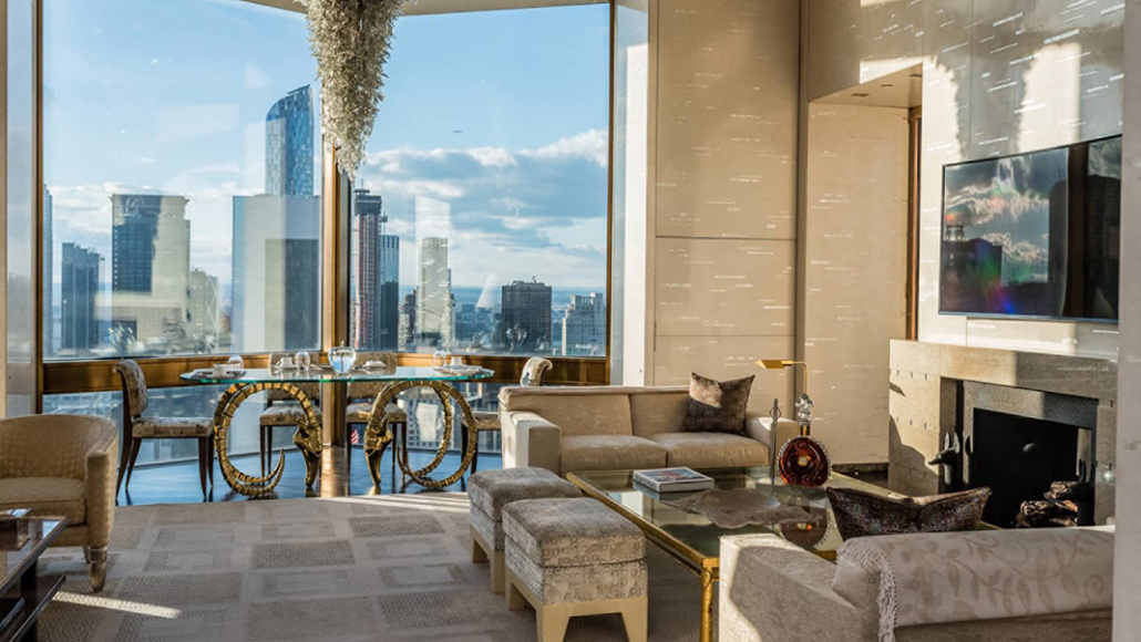four seasons new york ty warner penthouse living room