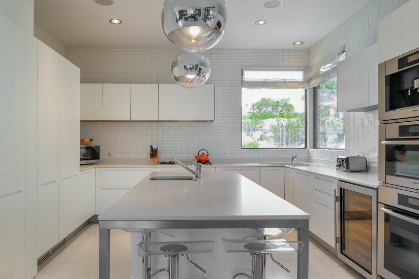 palm springs villa rental kitchen