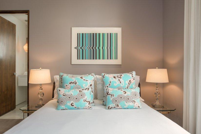 palm springs villa rental bedroom