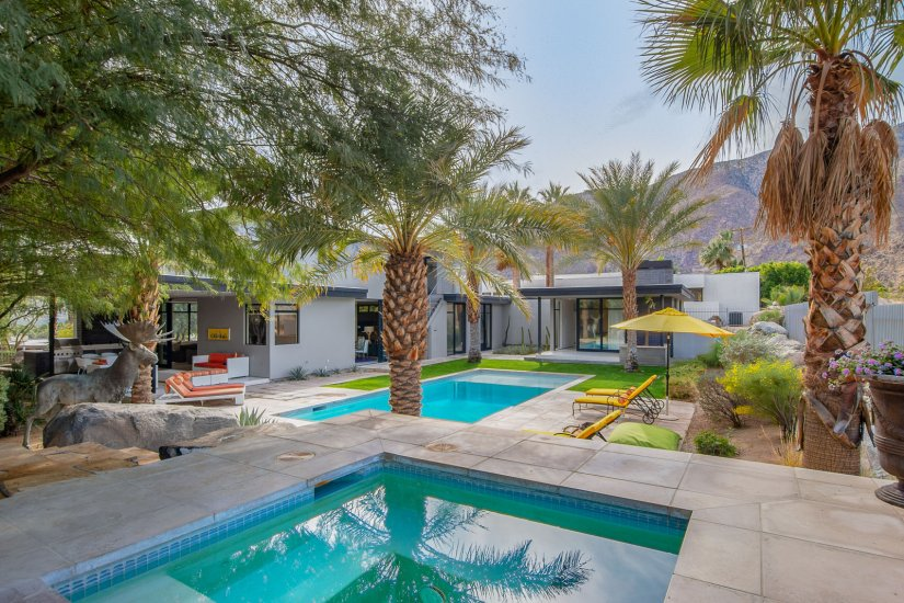 palm springs villa rental jacuzzi and pool