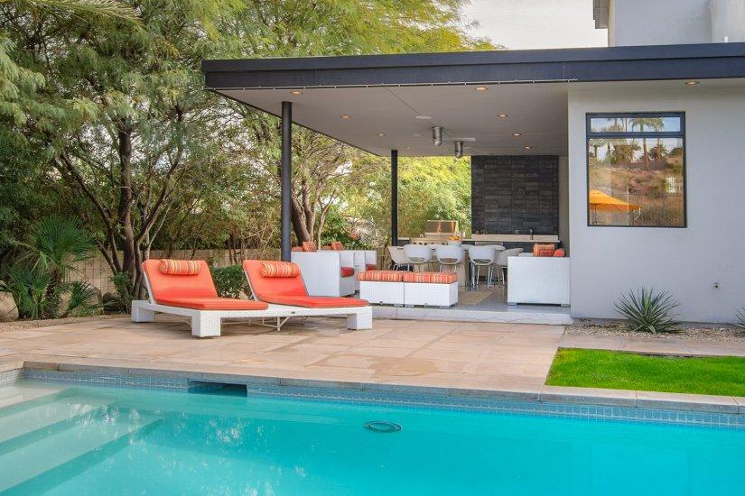 palm springs villa rental pool