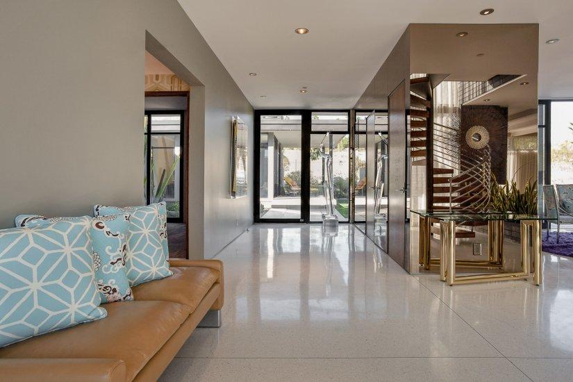 palm springs villa rental entrance design