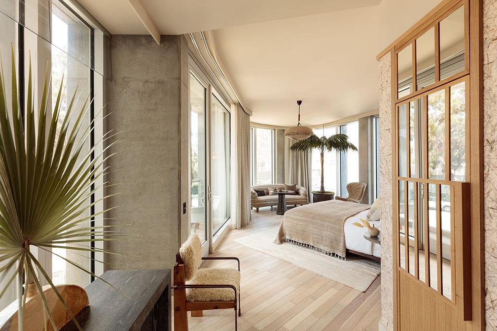 Santa Monica Proper Hotel deluxe suite