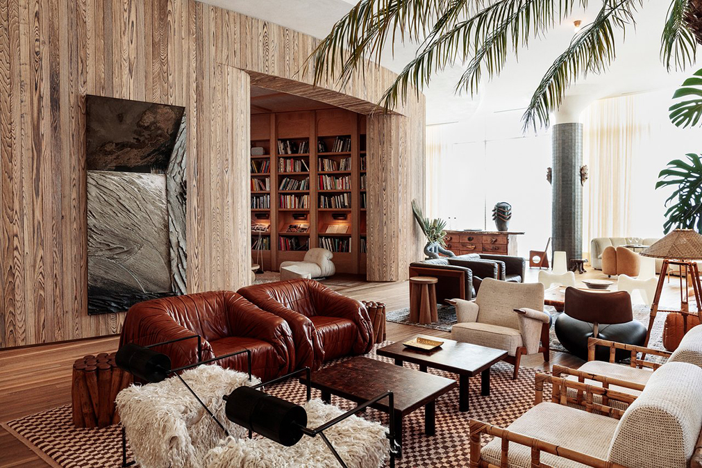 Santa Monica Proper palma lobby lounge