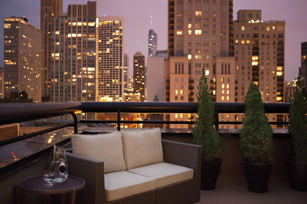 thompson chicago penthouse rooftop