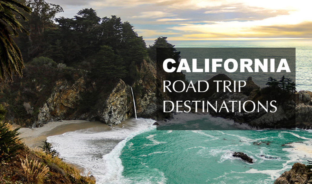 mcway falls big sur california road trip destinations