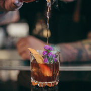 bartender pouring cocktail san francisco