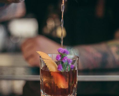 bartender pouring cocktail san francisco