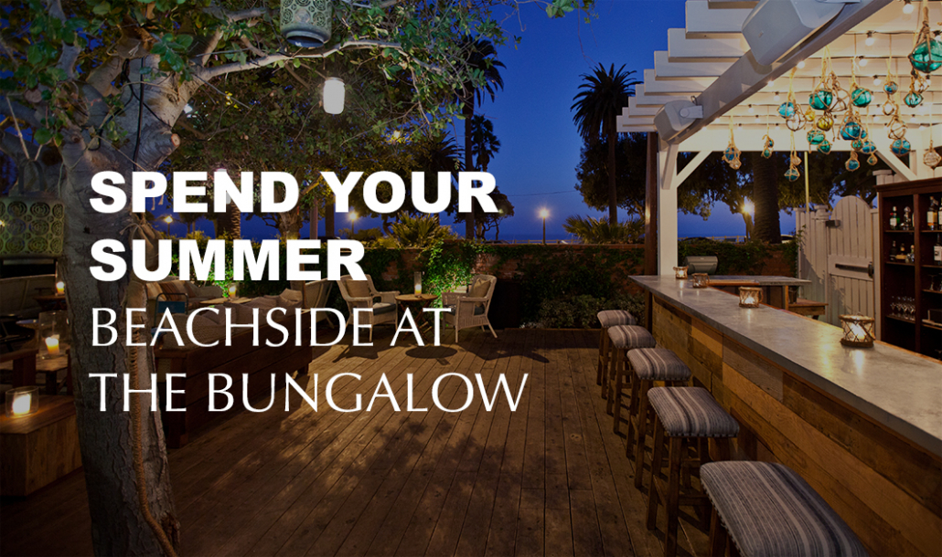the bungalow santa monica bar patio