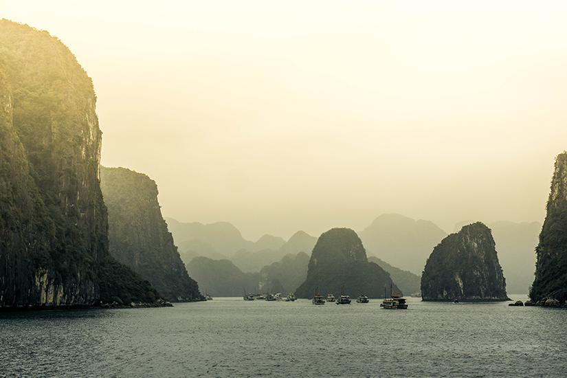 vietnam yacht charters destinations