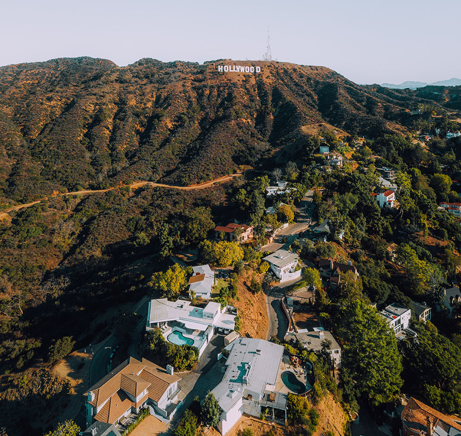 villa rentals in los angeles hollywood sign