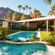 modern oasis palm springs rental