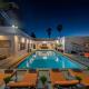 beverly hills modern villa rental
