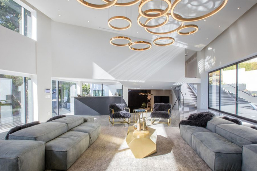 bowmont modern los angeles villa rental