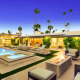 champagne dream palm springs villa rental