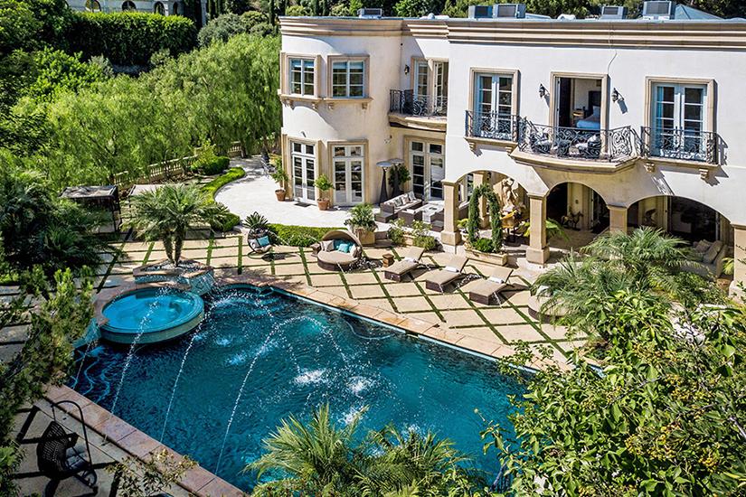 shadow hills estate los angeles villa rentals