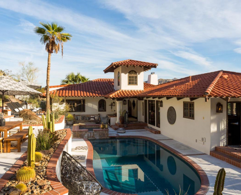 the mesa ridge palm springs villa rental