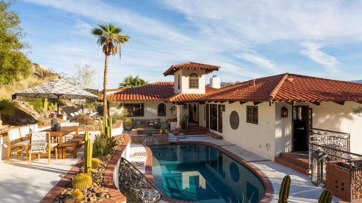 the mesa ridge palm springs villa rental