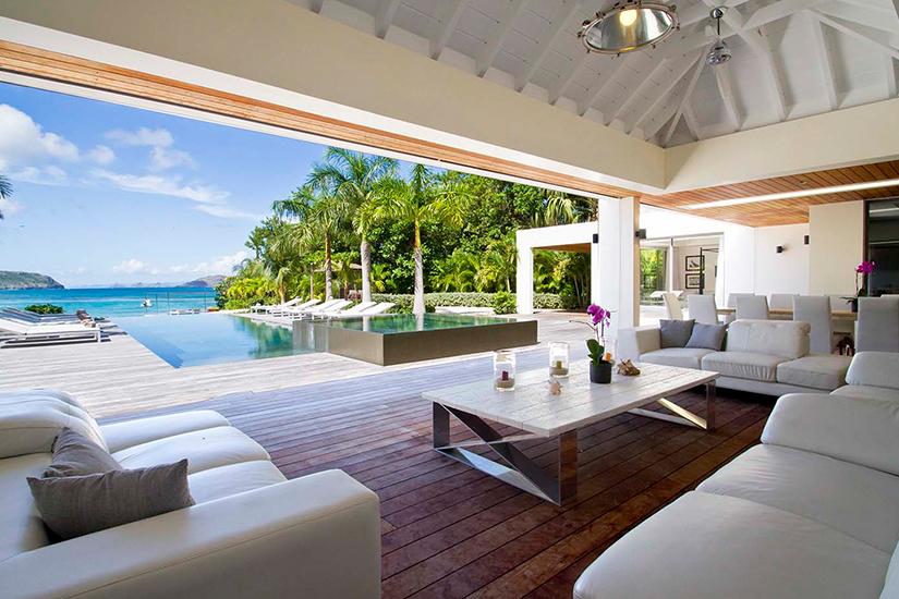 villa palm beach caribbean st barths villas